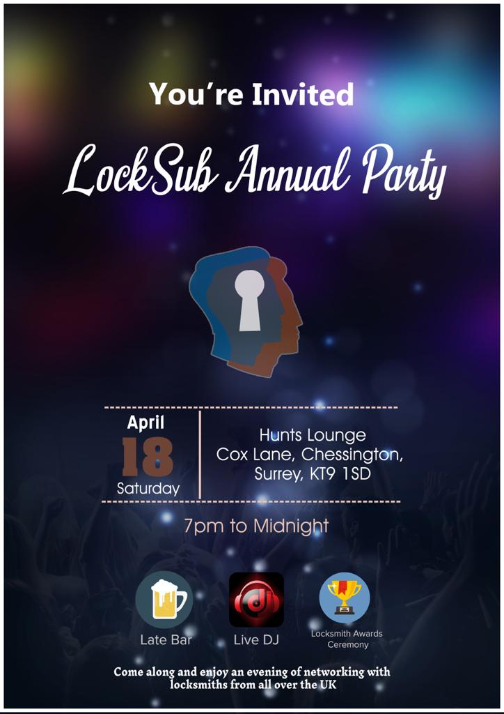 , LockSub Annual Party