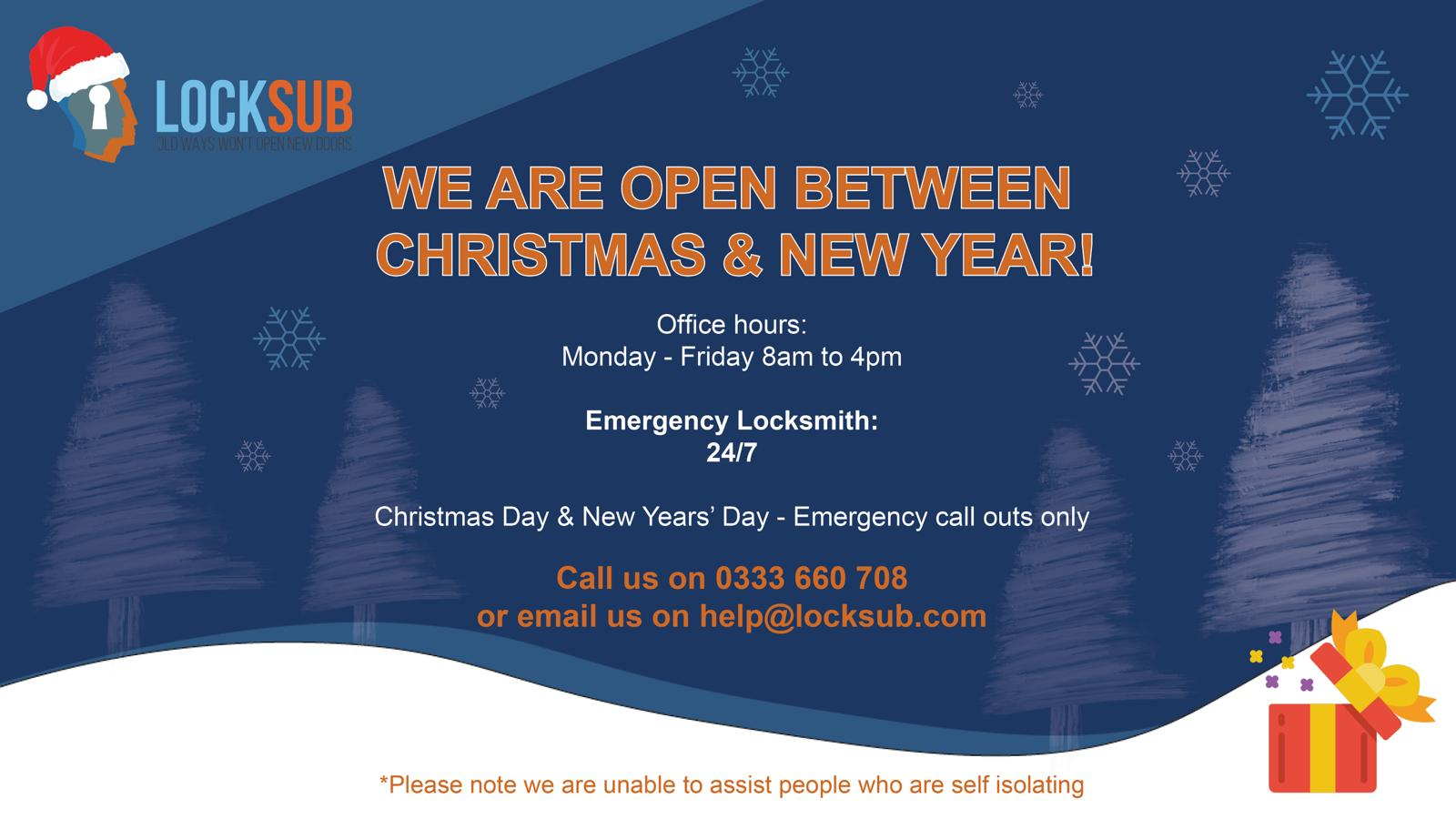 , Christmas Opening Hours
